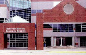 Photo of The Eckstein Medical Research Building